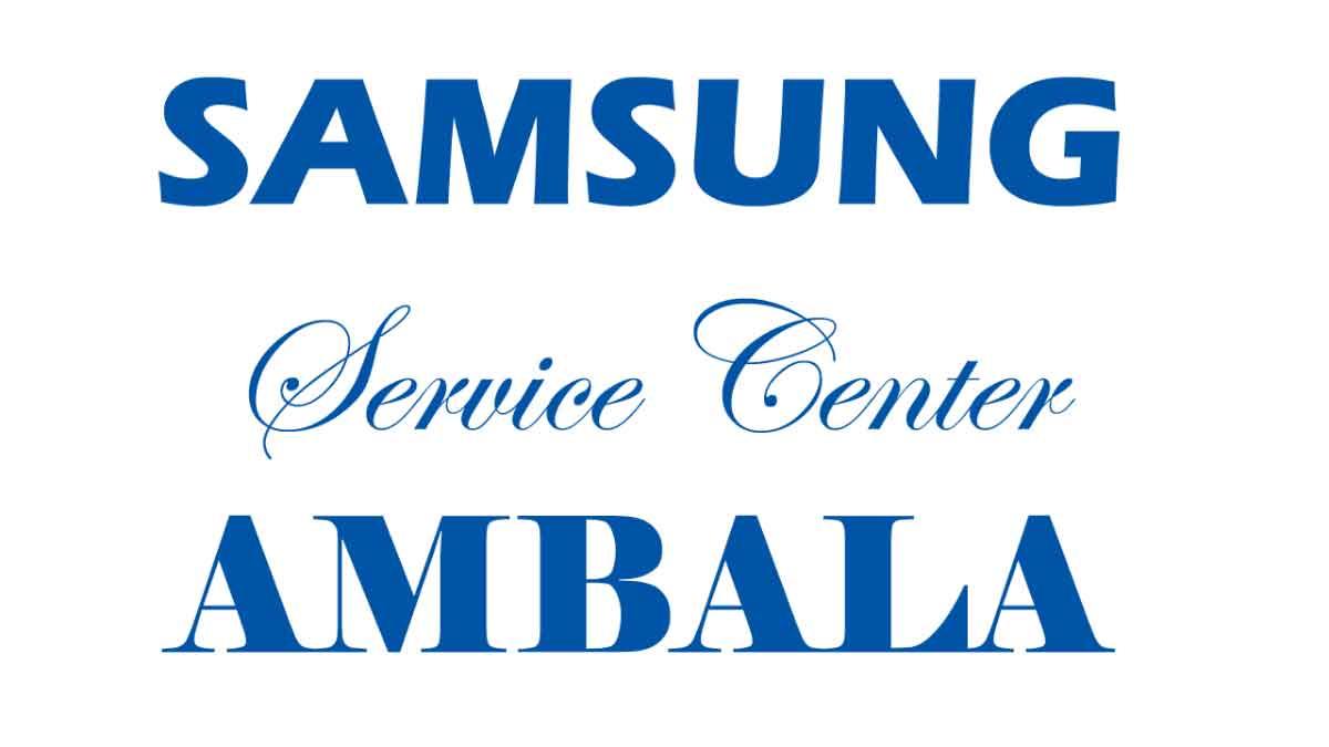 Authorized Samsung mobile service center Ambala Haryana