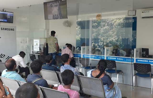 samsung service center perambur chennai tamilnadu inside