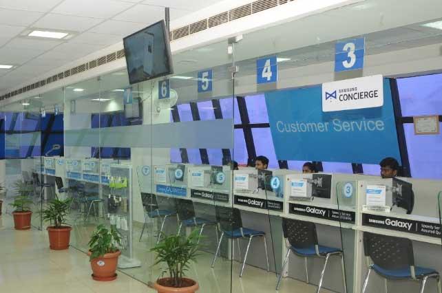 samsung service center rt nagar bangalore inside view