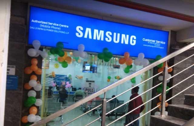 Samsung service center agra