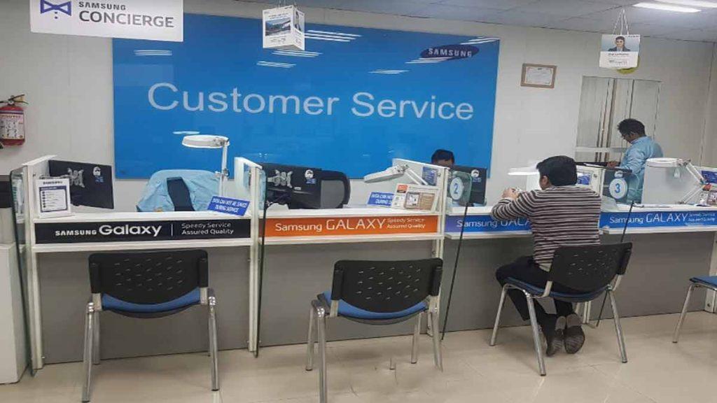 samsung service center gurugram contact number