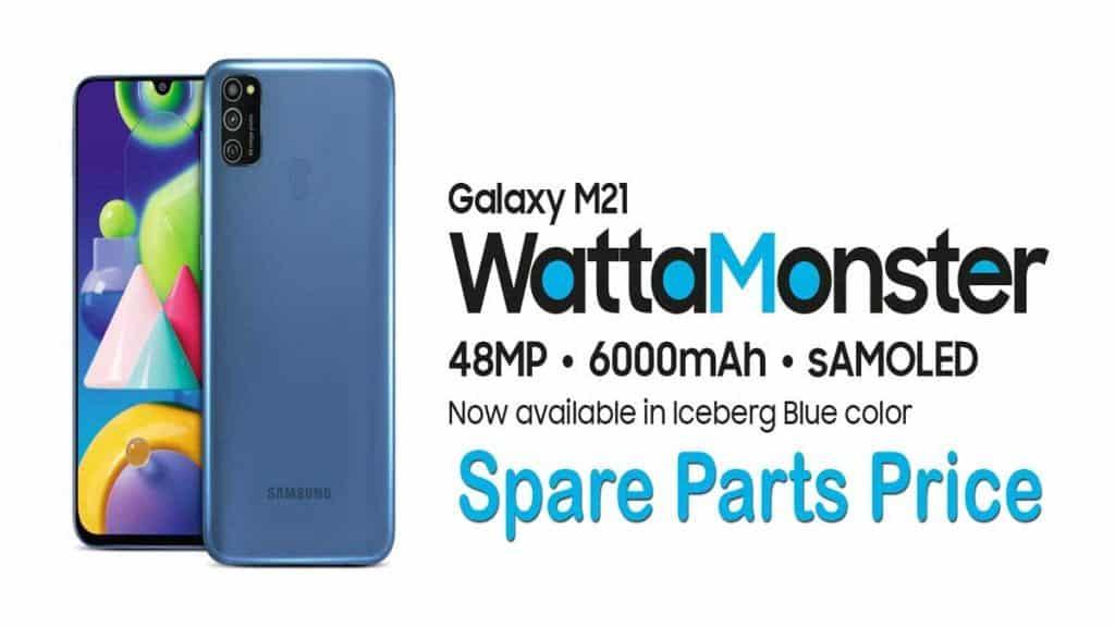 samsung galaxy m21 spare parts price india
