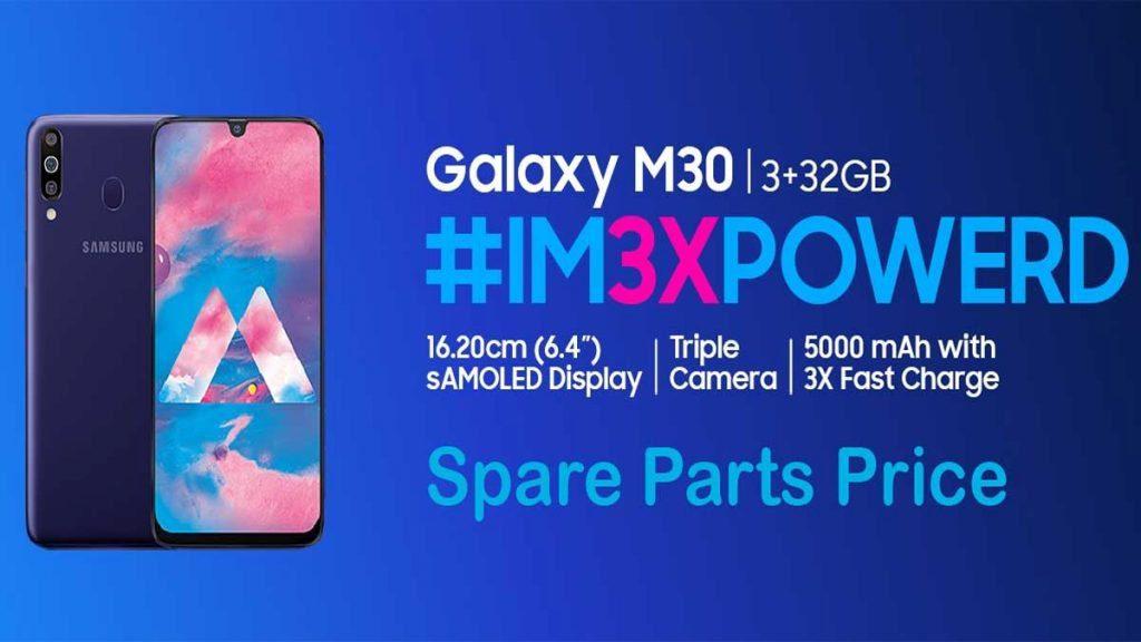 samsung galaxy m30s spare parts price