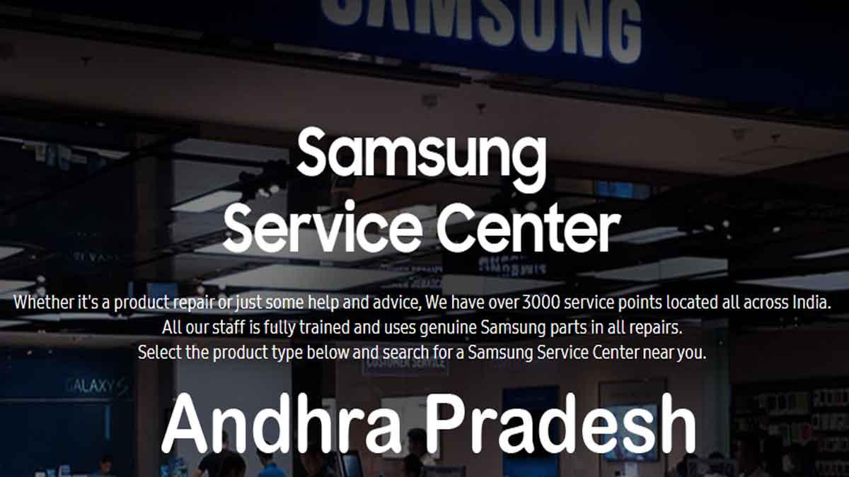samsung service center andhra pradesh