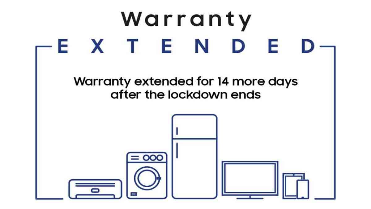 samsung warranty extending 14 days